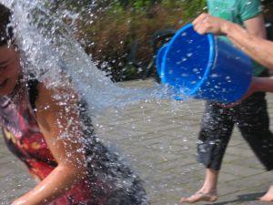 Receber um balde de água fria